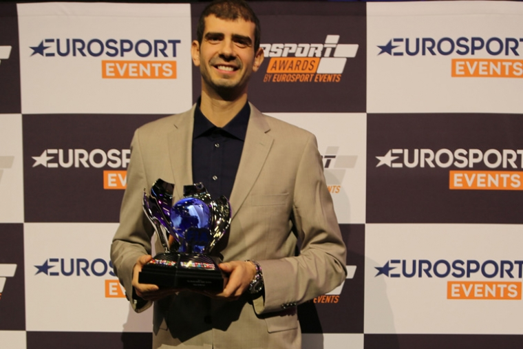 Dusan Borkovic with FIA champions trophy