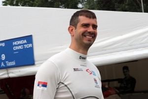 BORKOVIC IN AUDI WITH COMTOYOU RACING IN THE RACE FOR THE TCR EUROPE TITLE