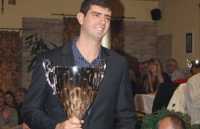 Another trophy in 2012 Dusan Borkovic – Athlete of the year