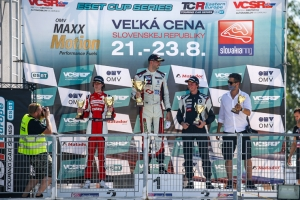 ANOTHER PODIUM FOR DUSAN BORKOVIC IN TCR EASTER EUROPE IN THE FIRST RACE AT SLOVAKIARING
