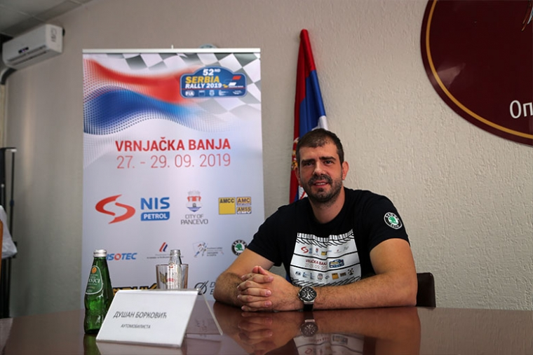 DUSAN BORKOVIC WILL PARTICIPATE IN THE 52ND SERBIA RALLY