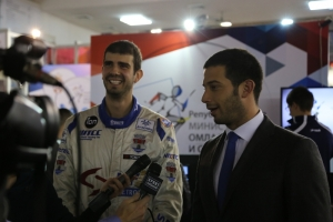 The best Serbian race car driver Dušan Borković was a guest at the Ministry of Youth and Sports