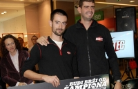 "Dusan Borkovic drove five of the best players in the giveaway ""Be faster than the champion"""