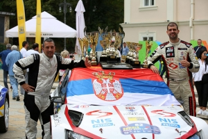 BORKOVIĆ DEFENDS THE CHAMPIONSHIP TITLE AT THE 53rd SERBIA RALLY