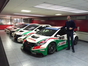Borković will enter into the new FIA WTCC season with a new car and team