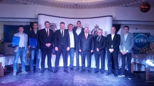 Dušan Borković receives a special tribute from the Serbian Automobile Association
