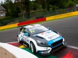AFTER LEADING RACE TWO IN SPA FRANCORCHAMPS, BORKOVIC GOT HIT FROM BEHIND AND SPUN OFF THE TRACK