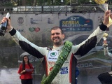 The best serbian race car driver Dusan Borkovic is the winner or 52. Serbia Rally