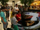 Unforgettable day with fans The best - Serbian race car driver Dušan Borković met with his fans from Belgrade in Stadion Shopping Center
