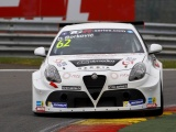 BORKOVIC IN A BIG PROBLEM WITH +50KILOS IN HIS NEW ALFA IN BELGIUM