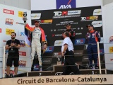 BORKOVIĆ REACHES THE PODIUM DESPITE A DAMAGED TIRE AND STILL IN THE RUN FOR THE TCR EUROPE TITLE